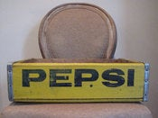 Image of Vintage Pepsi Wood Crate
