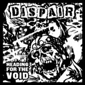 "Image of  Dispair ‎– Heading For The Void 12"" {White Vinyl) plus patch"
