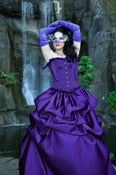 Image of Purple Elegant Belle Skirt STANDARD SIZED