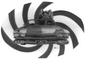 Image of Cthulhu's Cadillac Fine Art Print