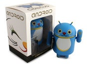 Image of Blue Lucky Cat Android - Shane Jessup