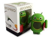 Image of Green Lucky Cat Android - Shane Jessup