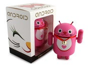 Image of Pink Lucky Cat Android - Shane Jessup