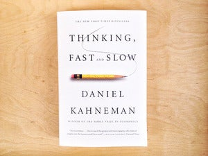 Image of Thinking, Fast and Slow by Daniel Kahneman