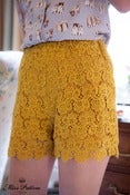 Image of Bathin' Beauty Shorts (mustard)