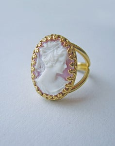 Image of Came To Her Senses Cameo Ring