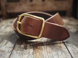 Image of Natural Horween Chromexcel belt