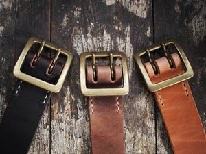 Image of Premium Japanese Double Garrison Belts