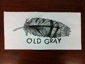 Image of Old Gray - feather patch