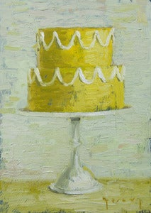 "Image of Yellow Wedding, Giclee Print, 5""x7"""