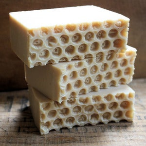 Image of Oatmeal, Milk, & Honey Cold Process Goat Milk Soap
