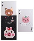 Image of Kawaii Animal Playing Cards