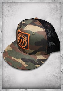 "Image of EXCLUSIVE ""W"" CAMO TRUCKER"