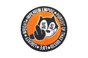 Image of Felix Crest Patch (Orange)