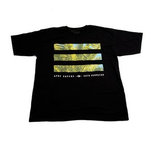 Image of Palm Bars Tee in Black