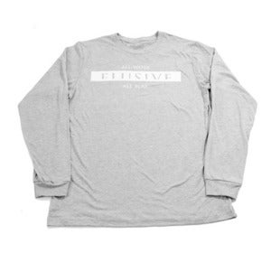 Image of AWAP Long Sleeve Tee in Grey Heather