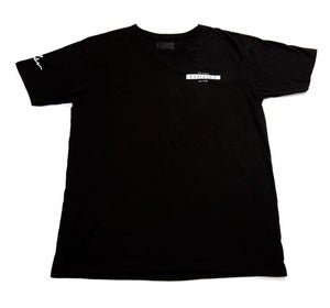 Image of Horizon V Neck in Black