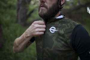 Image of Tracko Splinter Camo Cycling Vest!