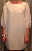 Image of 3.1 Phillip Lim Cream Silk Dress SZ 2 $159