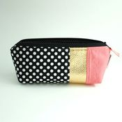 Image of pencil pouch - gold rush