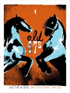 Image of Old 97's gig poster