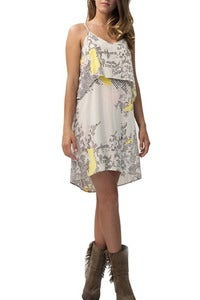 Image of LA Made Geo Flutter Dress