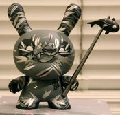 Image of Shadow Dunny 8 inch- Silver AP- SOLD