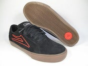Image of Lakai Mariano Black Suede & Walnut Suede