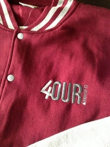 Image of 4OUR Freshman Jacket Burgundy
