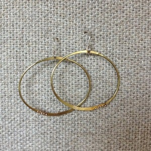 Image of Kiersten Crowley Hoop Earrings