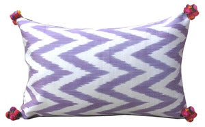 Image of Lilac Chevron Pom Pom