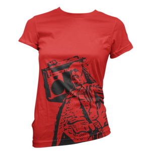 Image of Women's Ben Jammin' Tee (Red)