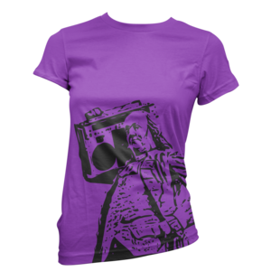 Image of Women's Ben Jammin' Tee (Purple)