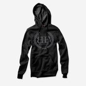 Image of Royal Crest Pullover Hoodie (Blackout)
