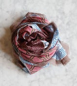 Image of Pink Cotton Scarf