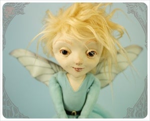 Image of  SOLD~ Garnie ~ Fairy Foreigner by the Filigree 