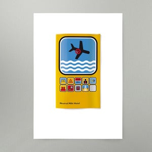 Image of In The Aeroplane Over The Sea Art Print