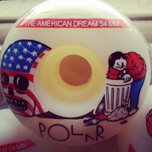 Image of Polar skate co  The Americain Dream wheels 52mm and 54mm