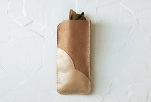 Image of LEATHER Sunglasses Case