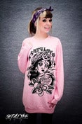 S4L LADIES 'BLACK-MAGIC' PJ SWEATER DRESS