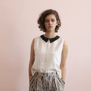 Image of Eve Gravel Mynou blouse