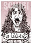 Image of 'Angela' Monster MugShot print