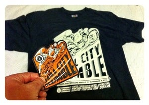 Image of Bull City Rumble 8 Rally Patch/Shirt combo