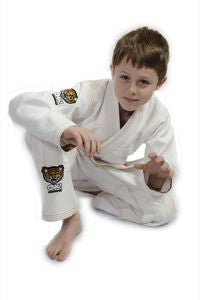 Image of Premium Kids Jiu Jitsu Gi (White)
