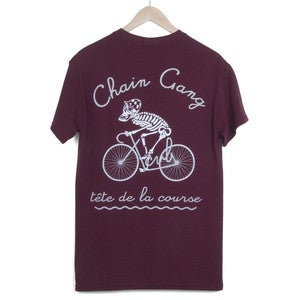 Image of XCVB - Chain Gang Maroon