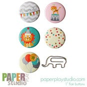 Image of Oh, So Happy - 6pc 'flair with flair' pack