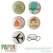 Image of Going Places - 6pc 'flair with flair' pack