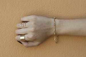 Image of Skinny Skeleton Bracelet