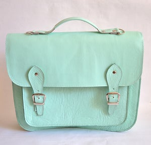 Image of Bag #3 Large Leather Satchel