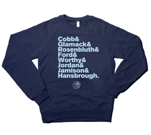 "Image of ""Legends"" Fleece Crewneck (Limited re-release)"